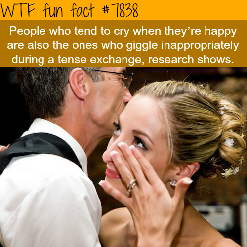 Why do we cry when we are happy? - WTF fun facts