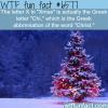 why do we write christmas as xmas wtf fun
