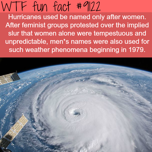 Why Hurricanes are Named After Females - WTF fun fact