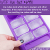 why ice cubes are white wtf fun facts