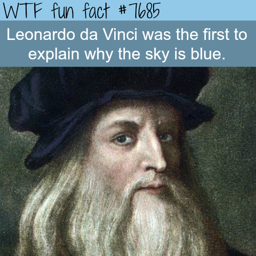 Why is the sky blue? - WTF fun fact