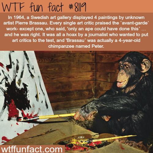 Why modern art critics are bullshitting you - WTF fun facts
