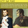 why napoleon kept his hands on his stomach