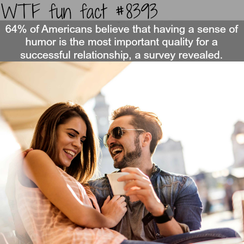 Why of humor is important in a relationship - WTF fun facts