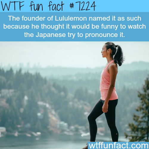 Why the founder of Lululemon named it that way - WTF Fun Fact