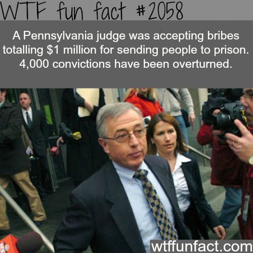 Why the prison population in the U.S. is large -WTF fun facts