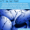 why time is moving fast wtf fun fact