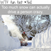 why too much snow is bad for you