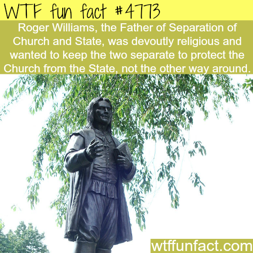 Why we have separation of Church and State - WTF fun facts