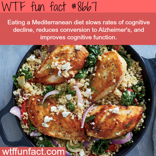 Why you should eat a Mediterranean diet - WTF fun facts