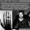 wilhelm rontgen x rays discoverer and wife