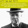 winston churchill wanted to have tea with hitler