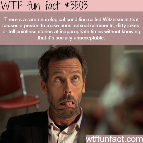 Witzelsucht -  WTF fun facts