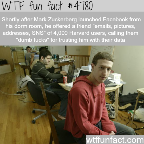 Young Mark Zuckerberg - WTF fun facts