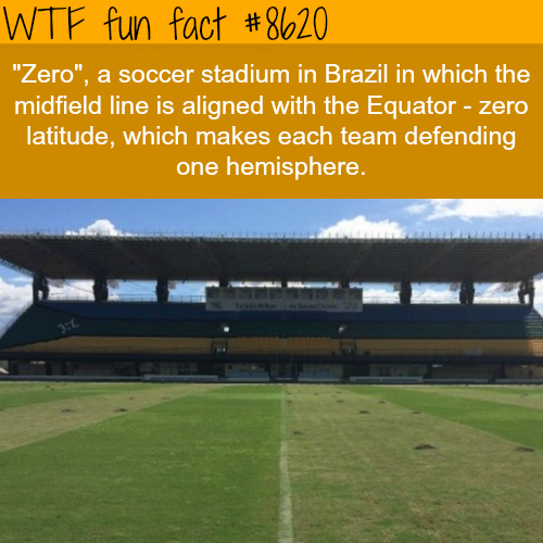 Zero Football Stadium - WTF fun facts