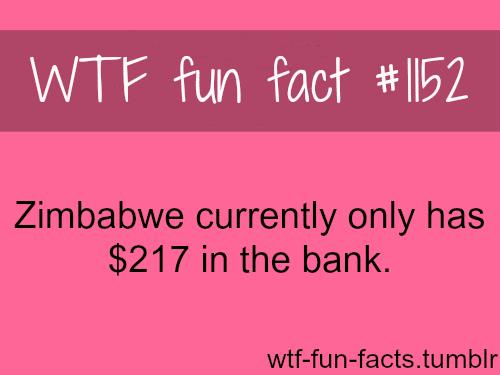 Zimbabwe currency - bank