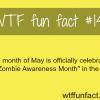 zombie awareness month