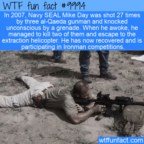 wtf fun fact - bulletproof ironman soldier