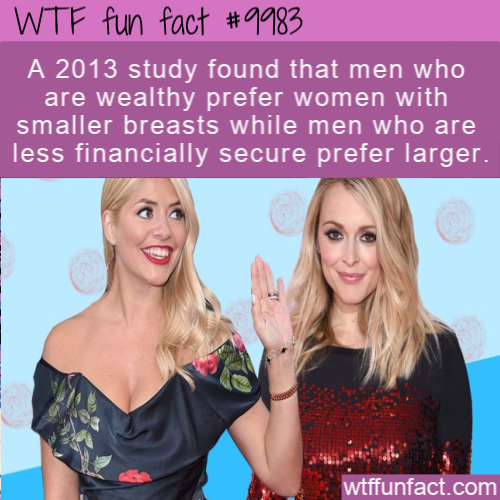 WTF Fun Fact Breast Preferences