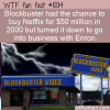 WTF Fun Fact – Blockbusted