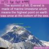 WTF Fun Fact – Sea Floor On Mountains