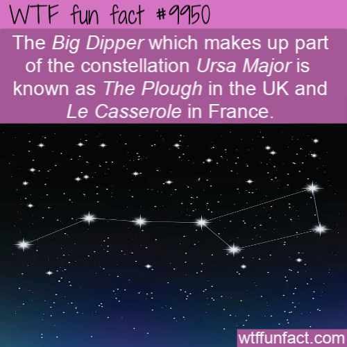 fun fact big dipper