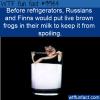 WTF Fun Fact – Frogs In Milk