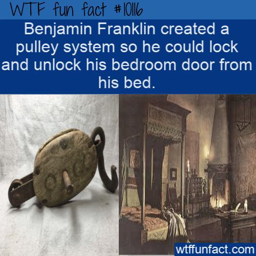 WTF Fun Fact - Ben Franklin Best Invention