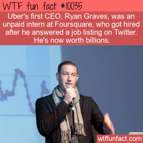 WTF Fun Fact - Billionaire Unpaid Intern