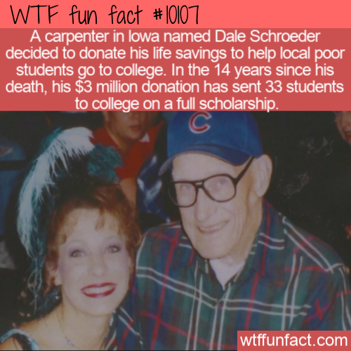 WTF Fun Fact - Carpenter Donate $3 million!