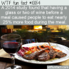 WTF Fun Fact – Eat More With Wine
