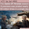 WTF Fun Fact – Game Of Throne Pirates