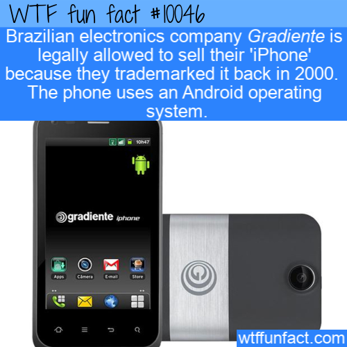 WTF Fun Fact - Iphoney