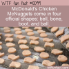 WTF Fun Fact – Official McNuggets