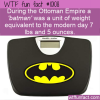WTF Fun Fact – Batman Unit