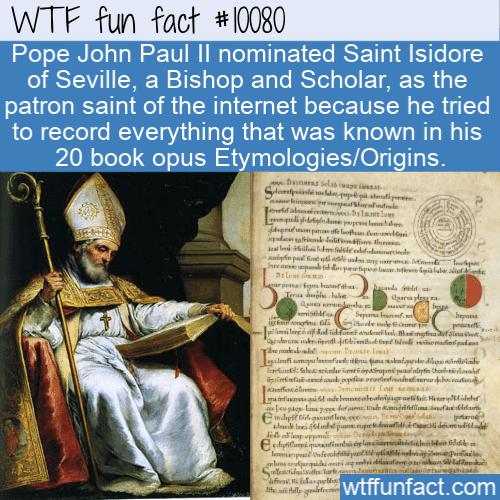 WTF Fun Fact - Patron Saint Of The Internet