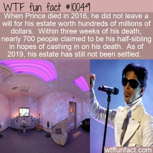 WTF Fun Fact - Prince Half Siblings