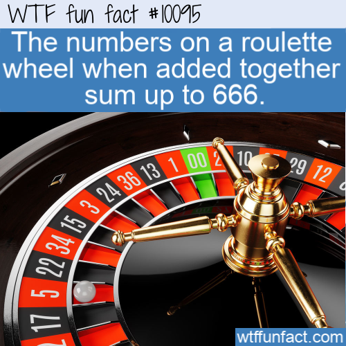 WTF Fun Fact - Roulette 666