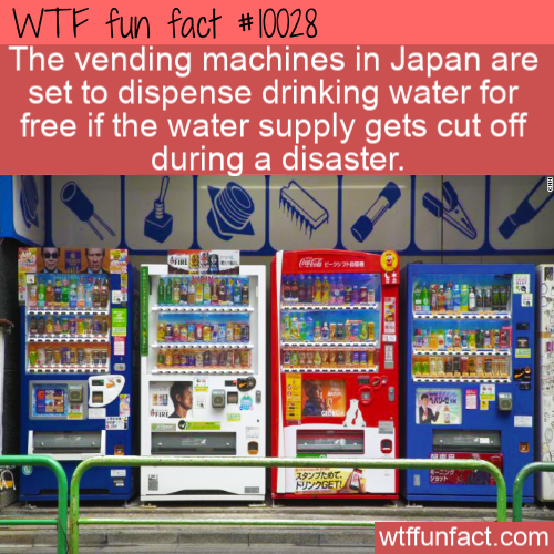 WTF Fun Fact - Smart Japanese Machines