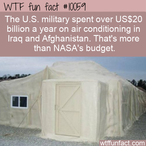 WTF Fun Fact - U.S. Military Spent More Than NASA