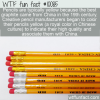 WTF Fun Fact – Yellow Pencils