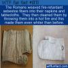 WTF Fun Fact – Asbestos Napkins