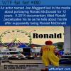 WTF Fun Fact – Fake Ronald