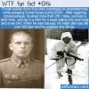WTF Fun Fact – Crazy Finnish Ski Soldier