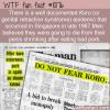 WTF Fun Fact – Koro Epidemic