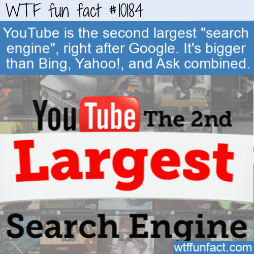 WTF Fun Fact - Largest YouTube
