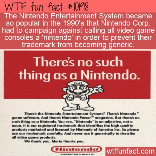 WTF Fun Fact - Not A Nintendo