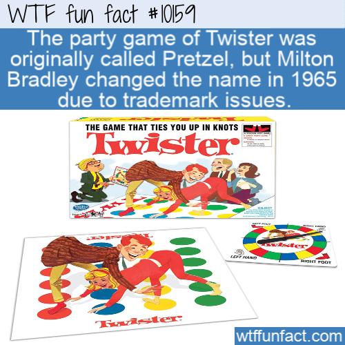WTF Fun Fact - Twister or Pretzel