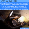 WTF Fun Fact – Woody Allen Typewriter