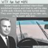 WTF Fun Fact – Windshield Wipers